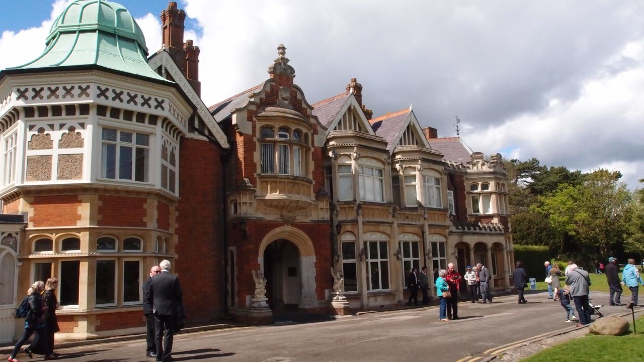 Bletchley Park GHC Outing May 2015 - 50