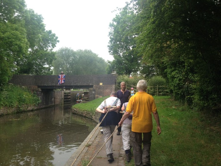 History Club Canal Boat Pull June 2016 - 22