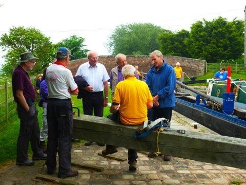 History Club Canal Boat Pull June 2016 - 07