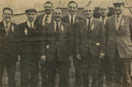 Gringley Association maybe 1965 Messrs Woodward, Broughton, Ashworth, Greaves etc.